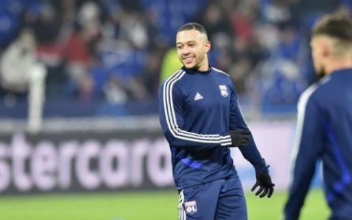 Afbeelding: Memphis maakt rentree: twee treffers en assist binnen achttien minuten voor Lyon