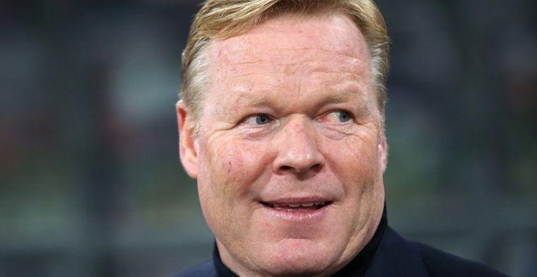 Speculatie over nieuwe trainer Barcelona: Koeman wil Barça heel graag trainen