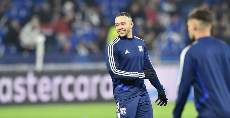 Memphis maakt rentree: twee treffers en assist binnen achttien minuten voor Lyon