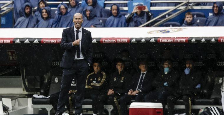 """Zidane blijft kalm onder situatie Hazard: """"Ik twijfel niet aan hem"""