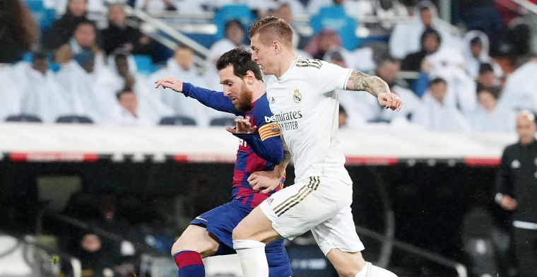 Titelclash Barça vs Real: Courtois en Hazard in pole, Villarreal scherprechter
