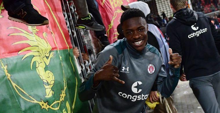 Transfernieuws bij Feyenoord: Conteh speelt volgend seizoen in de Kuip