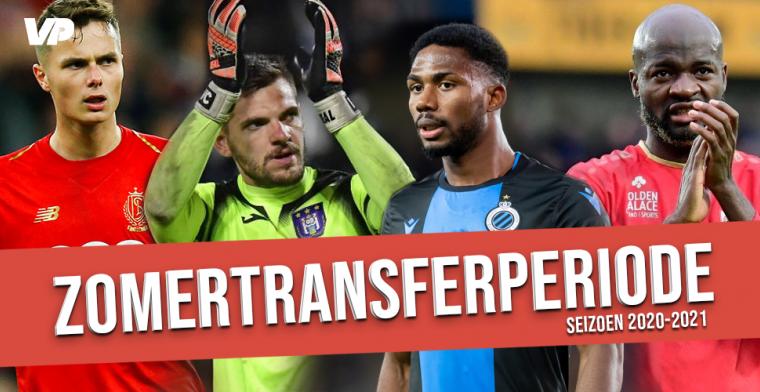Transferoverzicht Jupiler Pro League: zomer 2020-2021