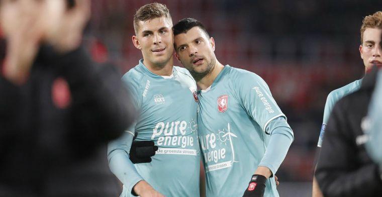Berggreen (FC Twente) nuanceert transferverhalen: 'Verder kennis maken'