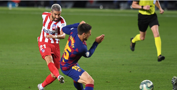 Spaanse media loven Carrasco na prestatie tegen Barcelona: 'De beste speler'