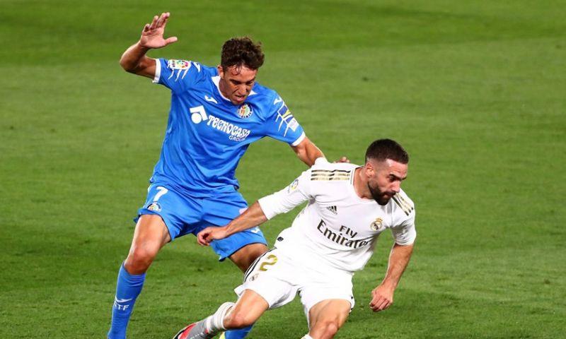 Afbeelding: Real Madrid neemt Getafe-hobbel dankzij benutte penalty van Ramos