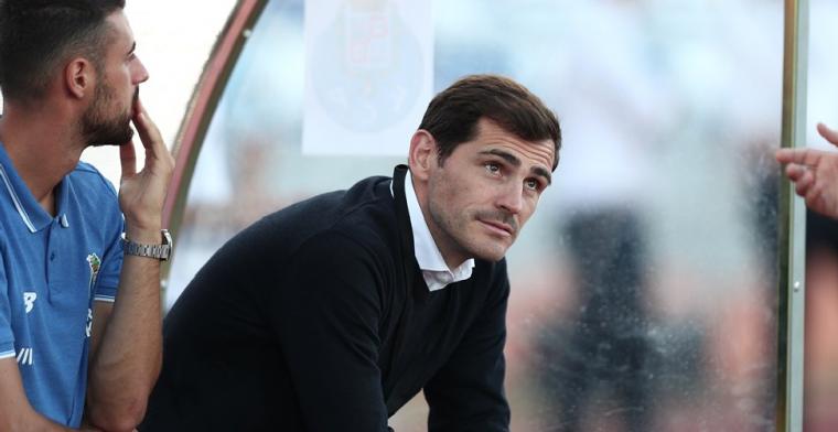Veteraan Casillas (39) is na vijf jaar vertrokken bij FC Porto
