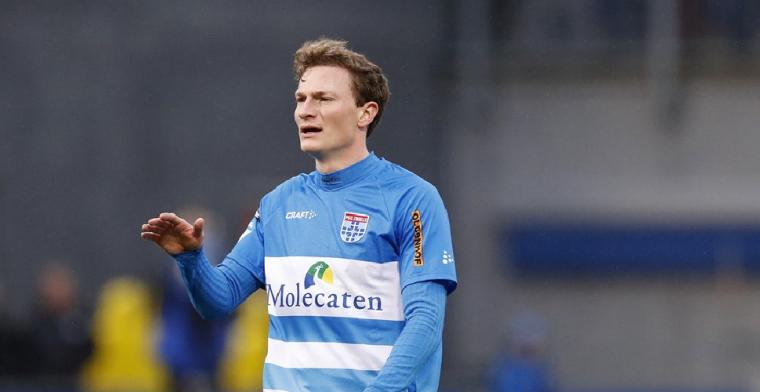 PEC Zwolle haalt versterking op bij FC Utrecht: 'Blij om terug te zijn'