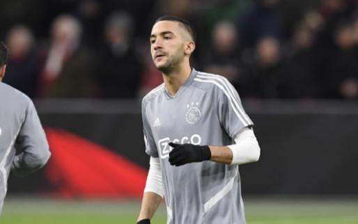 Ziyech meldde zich nog niet bij Chelsea: 'We wachten op nieuws'