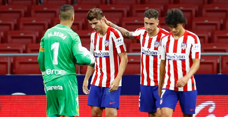 Atlético vergroot voorsprong op De Jong en co. met zege op degradatiekandidaat