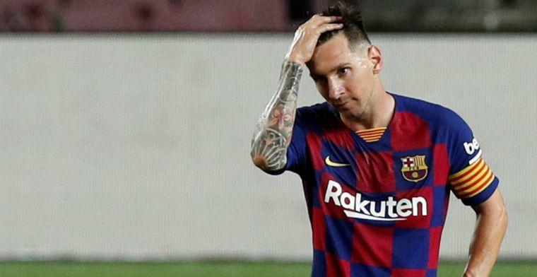 Gerucht Cadena SER: Messi is niet blij met Barça en denkt aan transfervrij vertrek