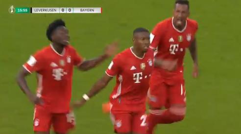 Leverkusen ziet af in Duitse bekerfinale: Bayern al snel op 0-2 voorsprong