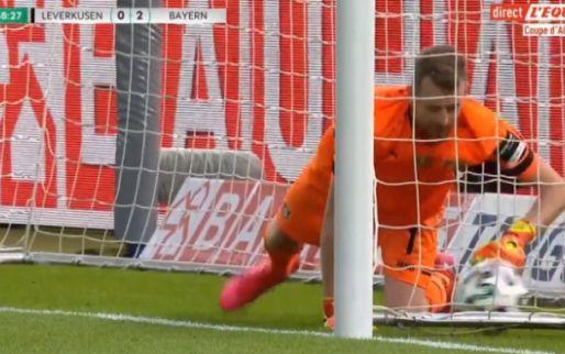 Gekkigheid in Duitse bekerfinale: Assist Neuer, Lewandowski scoort na blunder