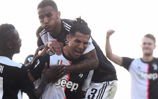 Afbeelding: Juventus wint ruim van Torino, maar verliest De Ligt en Dybala