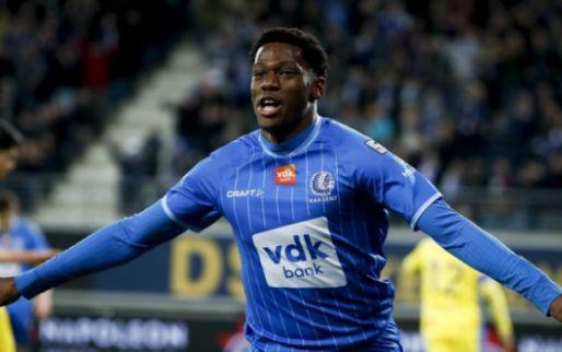 Afbeelding: Transfer van David (Gent) blijft voorlopig uit: