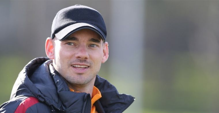Sneijder werkt aan comeback: Ik zie er niet uit als Robben, dat klopt