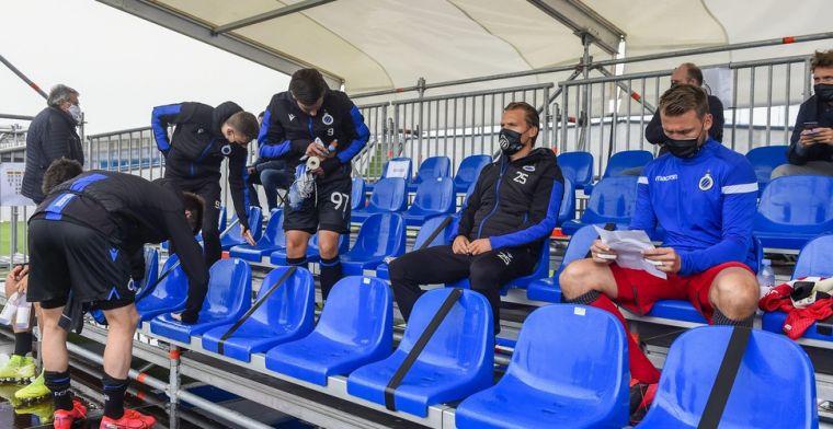 Genieten voor Mignolet en Vormer bij Club Brugge: Eindelijk weer een voetballer