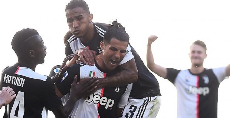 Juventus wint ruim van Torino, maar verliest De Ligt en Dybala