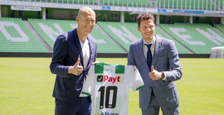 'Het is alleen jammer dat Robben niet voor Ajax, AZ, Feyenoord of PSV kiest'