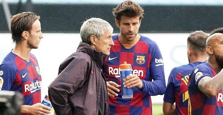 Setién gaat in op situatie Messi en Griezmann: 'Dezelfde Messi als altijd'