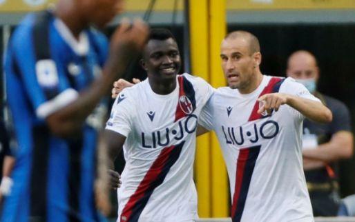 Afbeelding: Internazionale gooit alles weg tegen Bologna: doelpunt Lukaku helpt niet