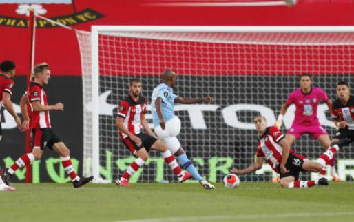 Afbeelding: Manchester City bijt zich stuk op Southampton-muur, één slippertje blijkt fataal
