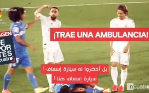 """Real Madrid is helemaal klaar met toneelspel Getafe: """"Bel een ambulance!"""""""