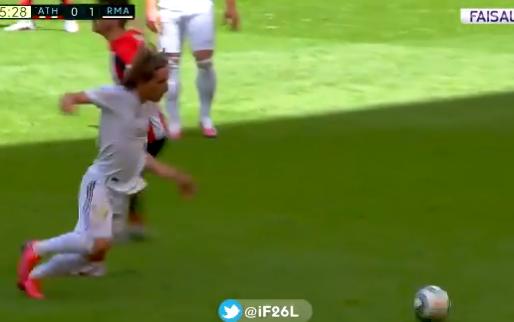 Modric deelt uit stilstand geniepige panna uit, Bilbao-captain Muniain neemt wraak