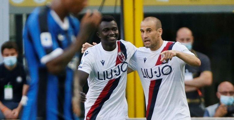 Internazionale gooit alles weg tegen Bologna: doelpunt Lukaku helpt niet