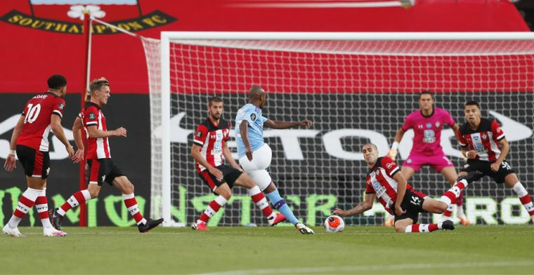 Manchester City bijt zich stuk op Southampton-muur, één slippertje blijkt fataal