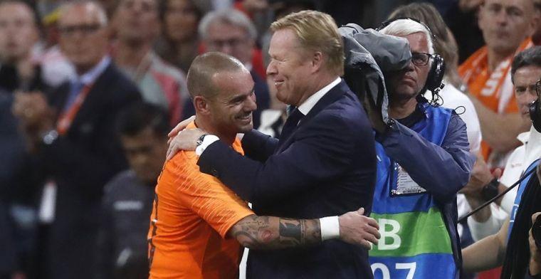 Koeman laat zich uit over Eredivisie-comebacks Robben en Sneijder