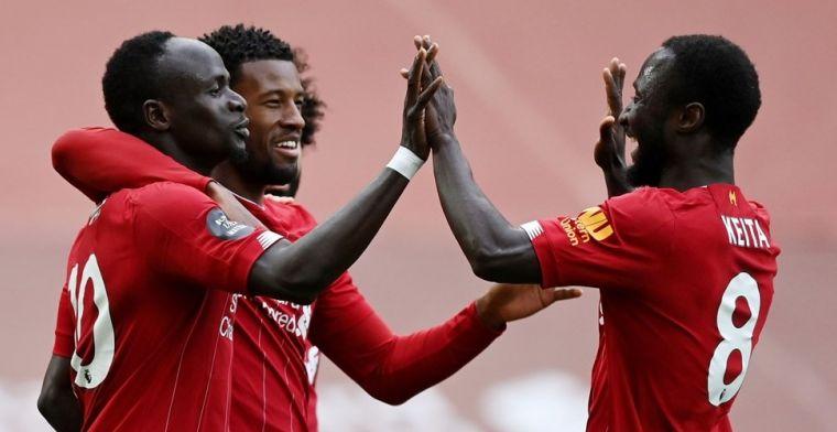 Lamlendig Liverpool wint toch in slot, problemen voor Engels en Aston Villa