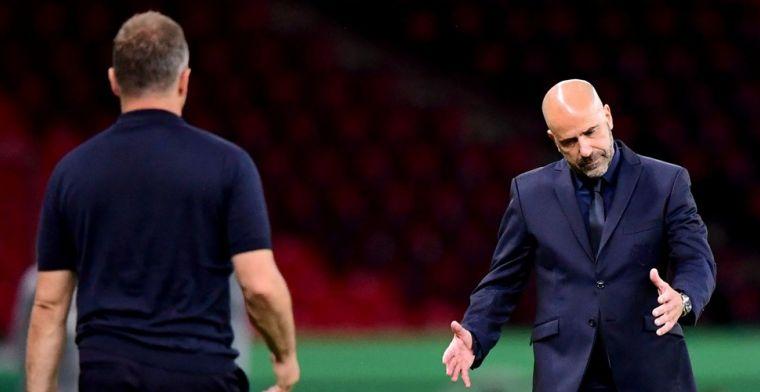 Bosz ziet Leverkusen-keeper schuld bekennen: 'Mijn fout verpestte alles'