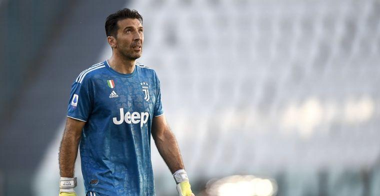 Buffon ziet groot doel na Serie A-record: 'Champions League zit in mijn hoofd'