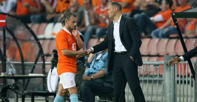 Van Basten waarschuwt mede-Utrechter Sneijder: 'Als het écht vanuit hem komt'