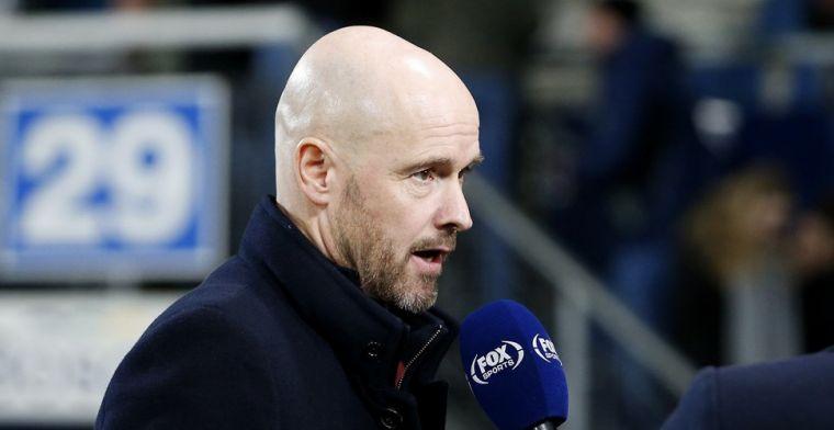 Ten Hag wijst toekomstig (top)trainer aan: 'Hij is sociaal en ziet het spel goed'