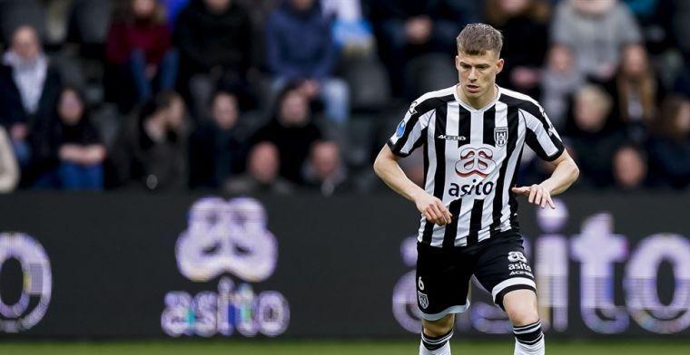 Dario van den Buijs na debuutmatch: Ik voel me meteen thuis in deze groep