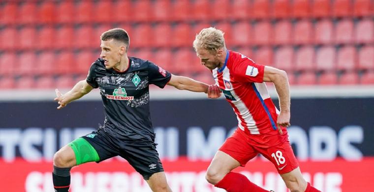 Werder Bremen overleeft slotfase en blijft in Bundesliga