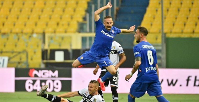 Inbraak in villa Ribéry: Fiorentina-ster deelt beelden van ravage