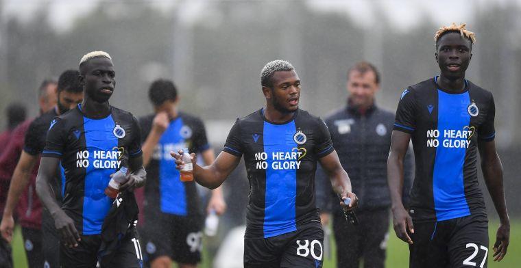 'Stewards moeten in actie schieten bij oefenwedstrijd van Club Brugge'