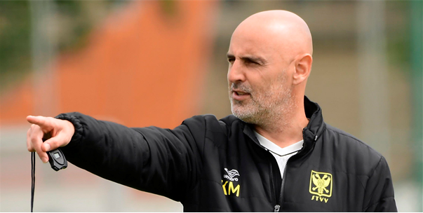 """STVV-trainer Muscat over transfers: """"Komen nog zeker twee spelers bij"""""""