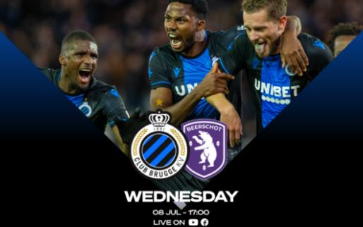 LIVE: Bekijk hier Club Brugge-Beerschot; elf nieuwe namen in 2e helft