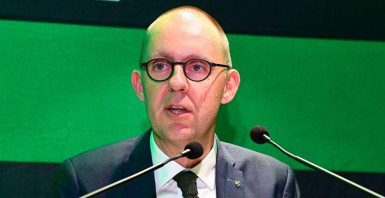 Cercle-voorzitter: 'Of Club de positie van de G5 verzwakt? Een goede vraag'