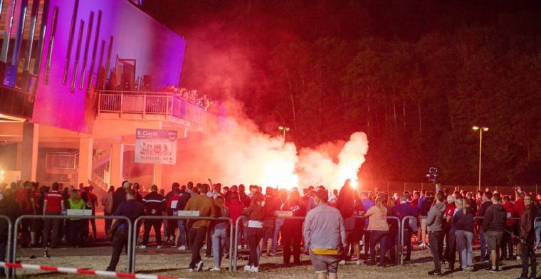 Spelersbus van Werder Bremen aangevallen door opgefokte Heidenheim-fans