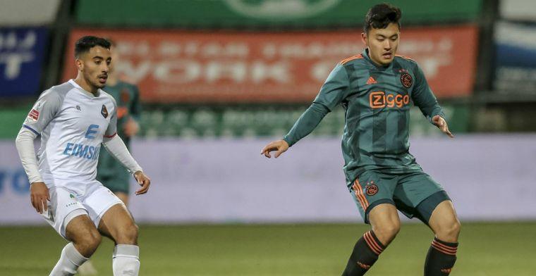 Ter Heide: 'Fans op de tribune bij de training, bij Jong Ajax nooit gehad'
