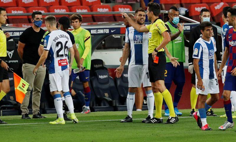 Afbeelding: 5 bizarre minuten in Derbi Barcelonès: Espanyol degradeert uitgerekend in Camp Nou