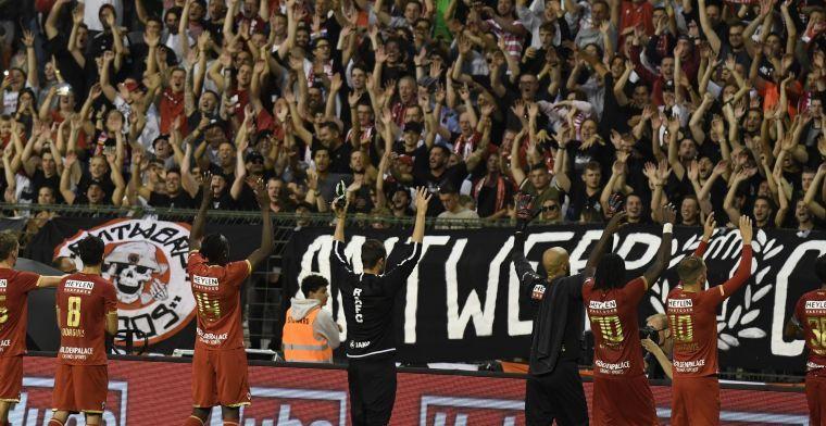 Antwerp reageert op loodzwaar programma en hoopt op supporters
