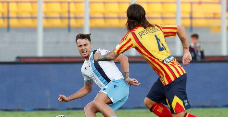 Geen 'Suárez-straf' voor Patric: Lazio-verdediger mist vier duels vanwege bijten