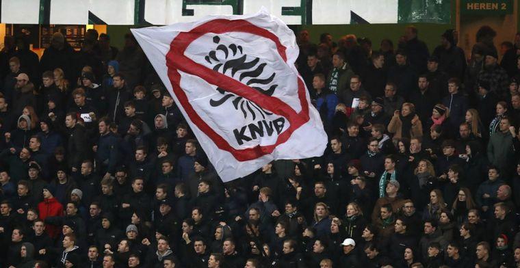 Nieuwe maatregelen KNVB: alleen fans thuisspelende ploegen welkom in stadions