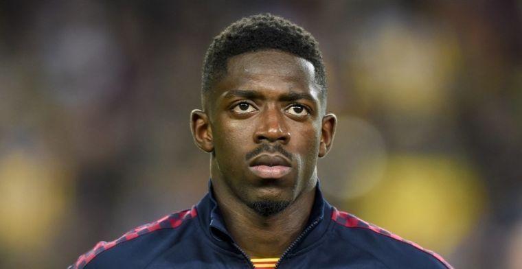 'Barça wordt mogelijk verlost van Dembélé: Fransman plan B voor United'